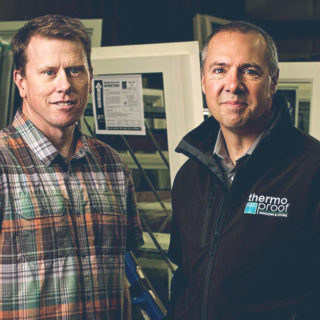 Thermoproof Windows & Doors - Shaun Goode and Cam Drew